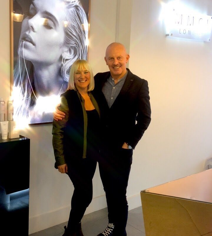 Mark McDonald With Top Department Store Display Designer Jo Dallas